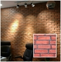 Flam Brick Red Wall Cladding