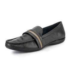 Mens Black Moccasins