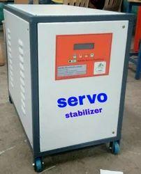 自动9kva伺服稳定器,用于工业,400 V