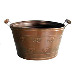Antique Copper Beer Party Champagne Tubs - NJO 1637