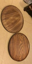 Wooden Plates ( Not Disposable Items)
