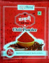 Chilli Powder 50gm Packaging