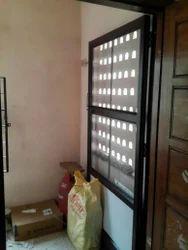 Aluminium Netlon Door