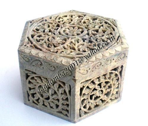 Decorative BoxesKarin Ashley Giant Agate Lacquer Box Black And
