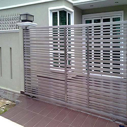 Automation Sliding Gate Stainless Steel Siding Gate