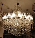 50 Lamps Crystal Chandelier