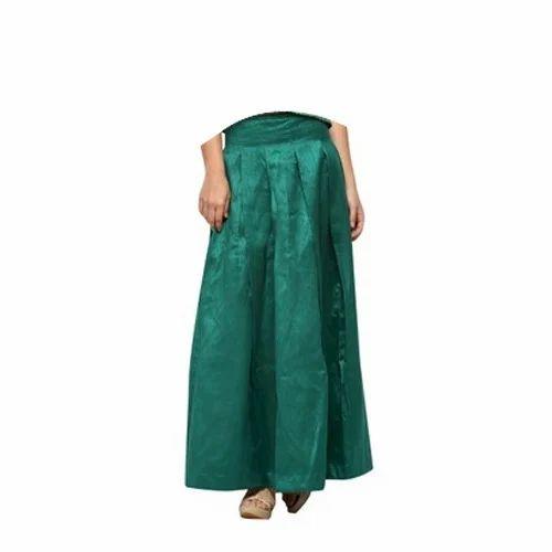 67d87d9cef8 Green Silk Maxi Skirt at Rs 1200  piece