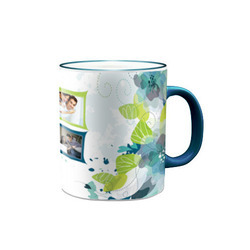 Fringe Colored Photo Mug