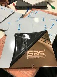 SS Rose Golden PVD Sheet