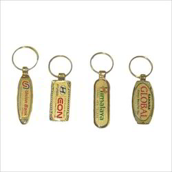Gold Laminated Keychain