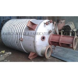 Stainless Steel Limpet Coil Reactor Vessel, Capacity: 100-500 L