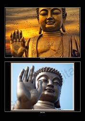 Lord Buddha''s 3D Wallpaper