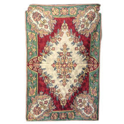 Rectangular Chain Stitch Rug, Packaging Type: Bag, for Home