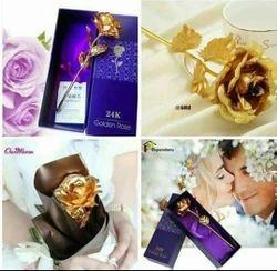 Sanvatsar Artificial Golden Rose, Packaging Type: Box