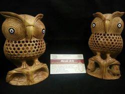 Sandalwood Undercut  (lattice ) Owl