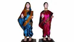 Multicolor Gauri Idol Model, For Interior Decor