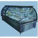 Curved Glass Showcase (base 3 Shelves)