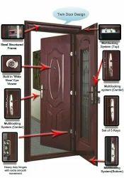 Smart Steel Security Double Door