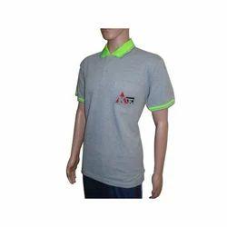Plain Collar T-Shirt