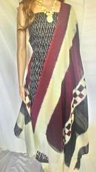 Contton Elegant Sambalpuri Ikkat Cotton Dress Material