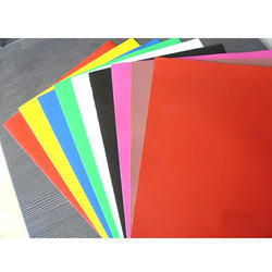 Red Plain PVC Laminate Sheet, For Industrial