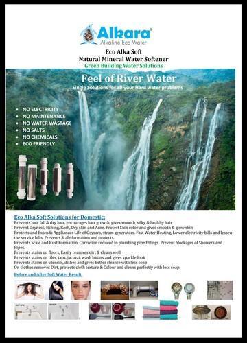 Alkara water softner zero maintenance at Rs 39000/unit