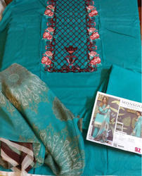 Formal Wear And Party Wear Cotton Pakistani Suits