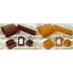 Glossy Wooden Jewellery Boxes Series
