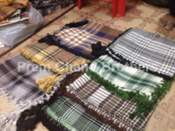 Arbi Rumal Pure Cotton Check Doulby