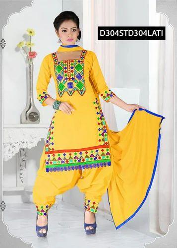 95ecb2e698e6 Simple Patiyala Suit at Rs 562 /piece   Punjabi Salwar Kameez ...