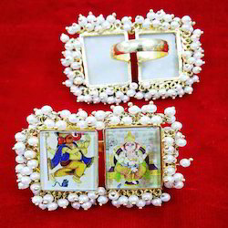 Photo Frame Finger God Ring