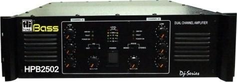 2500 Watt Two Zone DJ Amplifier, Hitone Trading & Mfg  Co