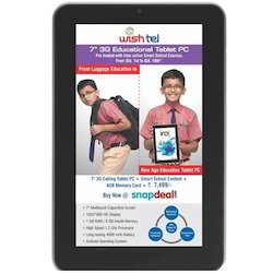 7 inch 3G Education Tablet PC