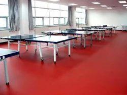 Red Table Tennis Flooring