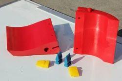 PU Polyurethane Conveyor Belt Scraper, For Packing Industry
