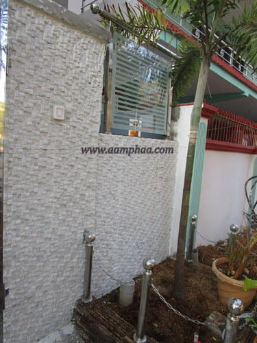 Front Elevation Tiles Chennai : Front elevation stone tiles एलिवेशन टाइल aamphaa