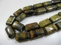 Natural Tigers Eye Nugget Bead