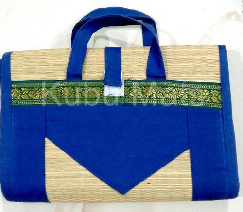 Korai Or River Grass Foldable Mat Bag
