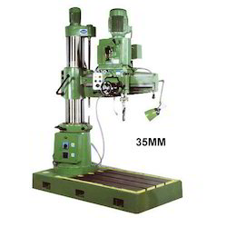 40 mm All Geared Radial Drill Machine