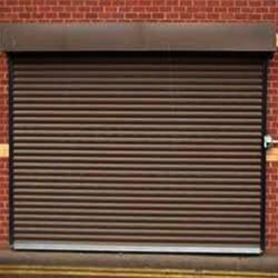 Grey Iron Shutter Door
