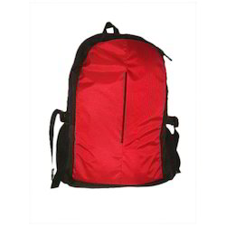 Red Black Laptop Backpack