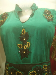 Green Churidar Suits