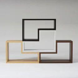 Designer Mounted Open Shelves