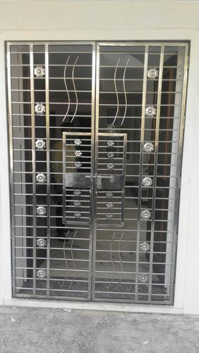 Door Grills - Stainless Steel Door Grill Manufacturer from ...