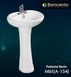 Pedestal Wash Basin - Mist  A-154