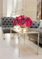Aluminium Polished Aluminum Table, For Home, Size: Custom