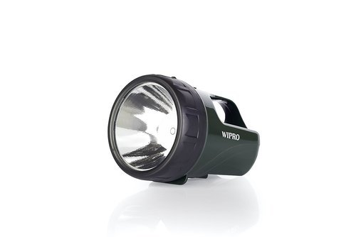 Led Torch Wipro 3w Rechargeable Led Torch Importer From Mumbai