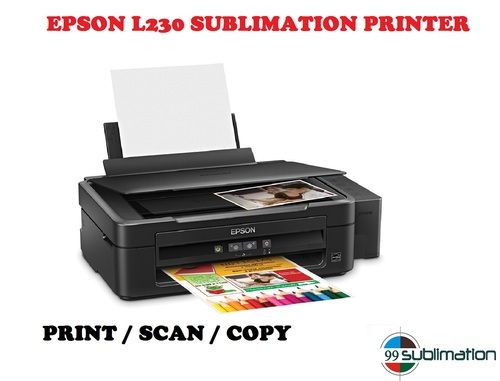 Epson L230 Sublimation Printer With Scan Copier एप्सन
