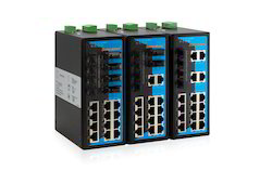20 Port Industrial Ethernet Fiber Switch With 4 Port SFP