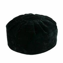 f0a03703208 Bottle Green Velvet Round Cap
